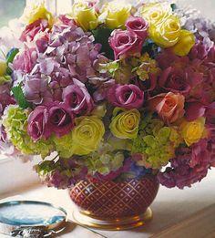 Hydrangeas & Roses by Carolyne Roehm.