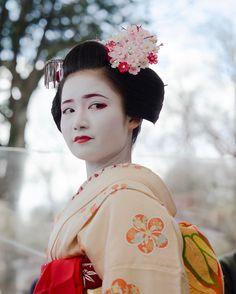 Geiko & Maiko — February 2017: Maiko Naoai (Nakasato Okiya) of...