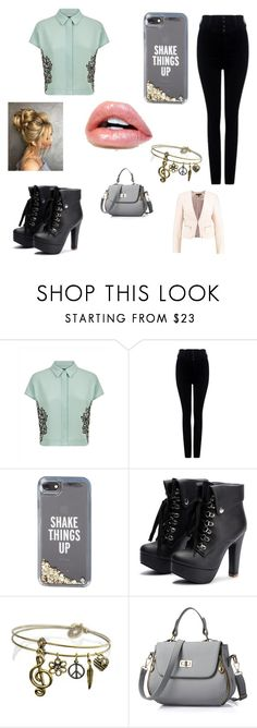 """""""Untitled #911"""" by love188grace ❤ liked on Polyvore featuring Jaeger, Citizens of Humanity, Kate Spade and Sweet Romance"""