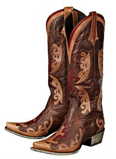 Rivertrail Mercantile - Lane Grace Cross Boots LB0018B, $350.00 (http://www.rivertrailmercantile.com/lane-grace-cross-boots-lb0018b/)