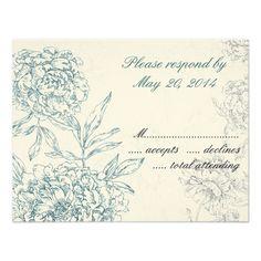 Discount DealsElegant Botanical Wedding RSVP Cards Jade Cream Custom Announcementtoday price drop and special promotion. Get The best buy