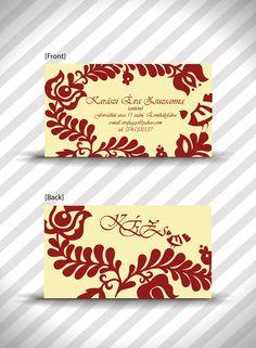 Hungaryan motif busines card!