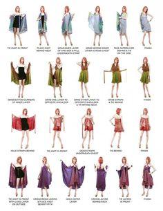 4 façons de porter un paréo