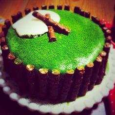 記念日ケーキ☺︎ - 30件のもぐもぐ - 抹茶のチョコレートケーキ♡ by skqcherrythm56
