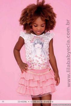 CONJUNTO INFANTIL BLUSA C/SAIA MISS CAKE DOCE PRINCESA BRANCO
