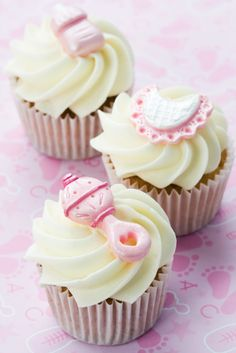 Baby girl - cupcakes