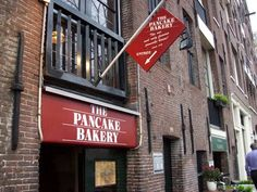 The Pancake Bakery - Prisengracht Canal, Amsterdam, The Netherlands