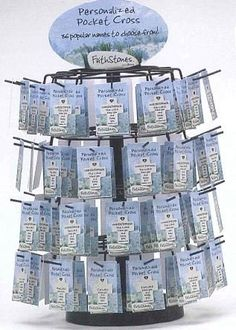 240 Pocket Crosses with Displayer by Gordon Companies, Inc. $1182.00. Shipping Weight: 21.00 lbs; Please refer to SKU# ATR25788420 when you inquire.; This product may be prohibited inbound shipment to your destination.; Picture may wrongfully represent. Please read title and description thoroughly.; Brand Name: Gordon Companies, Inc Mfg#: 30756839. 240 Pocket Crosses with Displayer/spinning/sign included/crosses are 2''H/display is 20''H x 16''W/made of resin and stone/you get ...