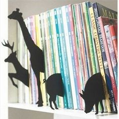 Image of Animal Index bookend