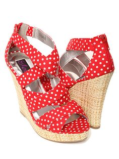 I love wedges! And these are only $16.99!