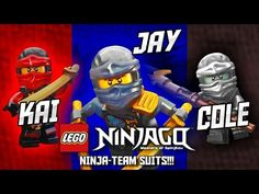 "LEGO® Ninjago - ""Ninja-Team"" Suits - Kai, Cole And Jay 