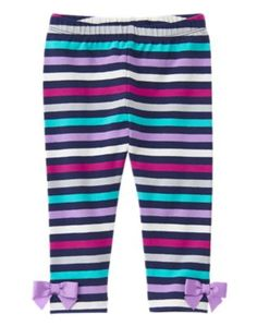 d8853b6e6e3d4 Toddler Girls Bouquet Stripe Striped Leggings by Gymboree. Imported and  Collection Name: Back to Blooms.
