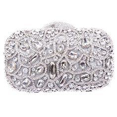 Main material: PU Lining, Diamond, Metal Color: Black, Gold, Silver Size: 18 (L) * 5 (W) * 12 (H) cm