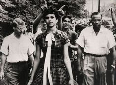 On the morning of September 4, 1957, fifteen-year-old Dorothy Counts set out on a harrowing path toward Harding High, where-as the first African American to attend the all-white school – she was greeted by a jeering swarm of boys who spat, threw trash, and yelled epithets at her as she entered the building.