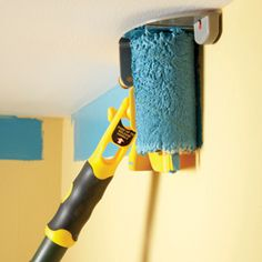 Check out this tool that let's you paint next to the ceilings without taping.
