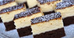 New Easy Cake : Anula in the kitchen: cheesecake on black, Mini Cakes, Cupcake Cakes, Baking Recipes, Cake Recipes, Polish Recipes, Holiday Desserts, Coffee Cake, Cake Cookies, Sweet Tooth