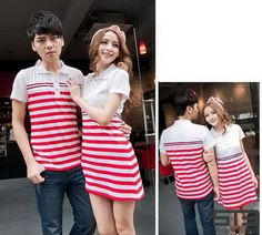 NEW ARRIVAL!  Collared Stripes Couple Wear (Pair) for only ₱ 699.00!  Click here to order: http://www.shopthiseasy.com/shops/collared-stripes-couple-wear-0a43f.html