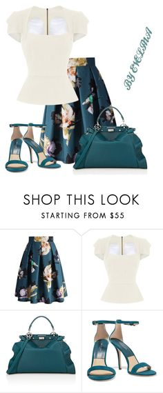 """""""EVE"""" by evelina-er ❤ liked on Polyvore featuring Chicwish, Roland Mouret, Fendi and Michael Kors"""