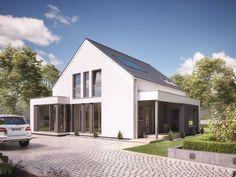 Unser FANTASTIC 163 V2. #Haus #Fertighaus #Hausbau #Design #Architektur #Einfamilienhaus #House #BienZenker