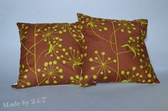 Handmade Pillow cover retro   mid century 40 x40 cm  by Madeby247