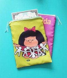 Bolsa para livro :: Mafaldinha
