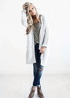 sweaters, light grey sweater, fall fashion, womens fashion, shop jessakae