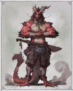 Fantasy Races, Fantasy Rpg, Dark Fantasy Art, Fantasy Character Design, Character Design Inspiration, Character Art, Creature Concept Art, Creature Design, Dungeons And Dragons Characters