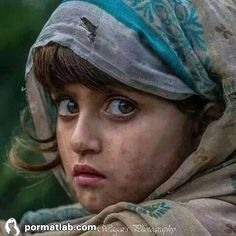 An girl portrait. Kids Around The World, People Around The World, Precious Children, Beautiful Children, Cute Kids Photography, Portrait Photography, People Photography, Afghan Girl, Emotional Photography