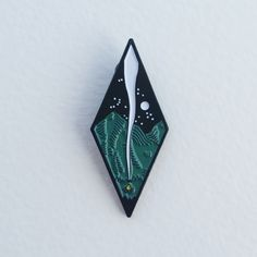 Image of {Rad Pins} Nighttime Lapel Pin