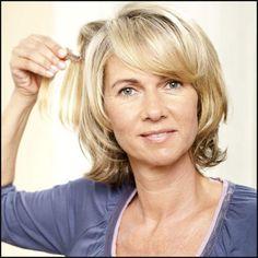 Frisur Ab 50, Per252cken... | lucycolegisele official | Einfache Frisuren
