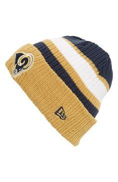 New Era Cap  Rib Start - St. Louis Rams  Knit Hat St Louis 69307e644