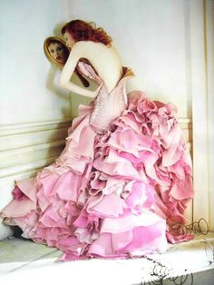 pink AND ruffles = LOVE