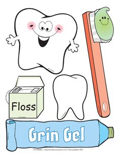 Its Dental Health Month Cute Clip Art And Mega Amounts Of FREE Activities At Themailbox