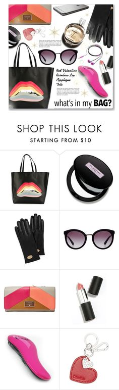 """""""Tote bags"""" by dressedbyrose ❤ liked on Polyvore featuring RED Valentino, Beauty Rush, Mulberry, Dolce&Gabbana, FOSSIL, Sigma Beauty, Calvin Klein, Hermès, Nicole Miller and women's clothing"""