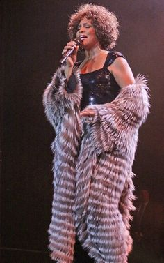 Whitney Houston ... I do it naturally
