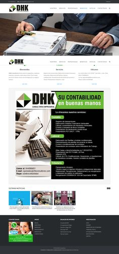 """DHK Consultores brinda asesoría a pequeñas y medianas empresas, llevando a todos lados el lema """"Dar el mejor servicio al cliente y forjar una estrategia para un negocio exitoso""""."""
