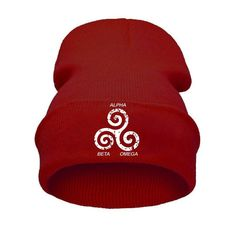 One Size Fits Most %100 Cotton Wash Cold; Dry Flat Made in Turkey This TEEN WOLF ALPHA - BETA - OMEGA BEANIE is a comfortable and stylish design that you will love and wear for ages! Beanie comes in o