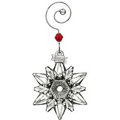 Waterford Christmas Mini Snowflake Ornament (€45) ❤ liked on Polyvore featuring home, home decor, holiday decorations, no color, holiday ornament, holiday christmas ornaments, holiday decor, snowflake ornaments and crystal snowflake ornament