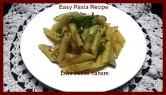 Easy Pasta Recipe | Kids Snack ~ Esho Bosho Aahare