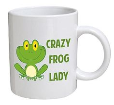 Best funny gift - 11OZ Coffee Mug - Crazy frog lady - Per... https://smile.amazon.com/dp/B01C98BGJO/ref=cm_sw_r_pi_dp_x_eGPAzbRKGGT9N