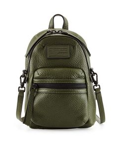 Domo+Biker+Cross+Biker+Backpack,+Spanish+Moss+by+MARC+by+Marc+Jacobs+at+Neiman+Marcus.