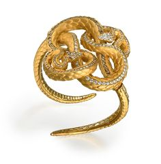 Carrera y Carrera Serpente Ring (Snake Ring) from the 'Bestiario' Collection