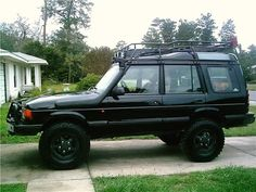 land rover discovery on 255-85r16