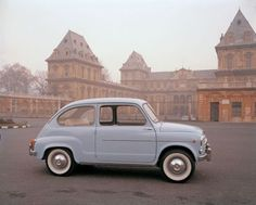 Fiat 600. Cool and classy.