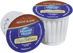 Maxwell House Cafe House Blend Coffee Pods, 18 Count - http://hotcoffeepods.com/maxwell-house-cafe-house-blend-coffee-pods-18-count/