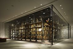 JP Tower Museum INTERMEDIATHEQUE by The University of Tokyo & TANSEISHA Co., Tokyo