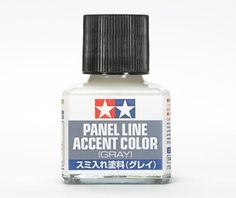 Tamiya Panel Line Accent Color for Plastic Model Kit Grey) Plastic Model Kits, Plastic Models, Basic Tools, Panel, Tamiya, Accent Colors, Scale Models, Gray Color, Perfume Bottles