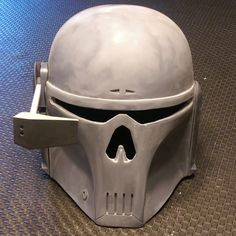 Mandalorian Executioner Helmet – Darth Cleavage Mandalorian Armor, Thing 1, Helmet Design, 3d Prints, Star Wars Clone Wars, Paint Schemes, Character Design References, 2 Colours, Paint Colors