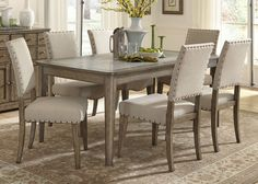 Weatherford Rectangular Dining Room Set | Liberty | Home Gallery Stores