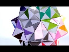 ▶ How to Make a Kusudama | Origami - YouTube